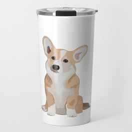 Corgi Waiting Travel Mug