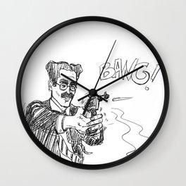Groucho 2 Wall Clock