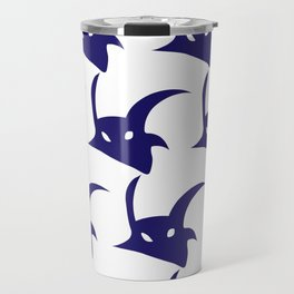 baphomet pattern Travel Mug