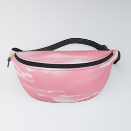 cloudy burning sky reacpw Fanny Pack
