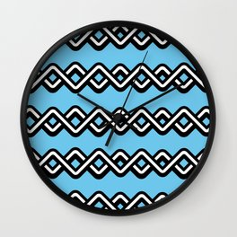 Digital weave Wall Clock