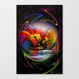 Abstract Perfection 42 Autumn Canvas Print