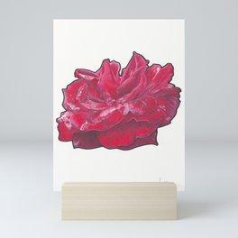 Red Rose 2 Mini Art Print