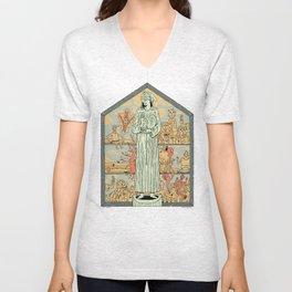 Saint Francis Unisex V-Neck