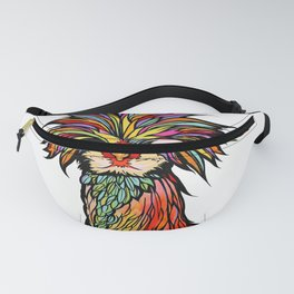 Josey Wales the Polish Rooster by RobiniArt Fanny Pack