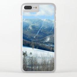 Ski Trails at Sugarbush Resort, Vermont Clear iPhone Case
