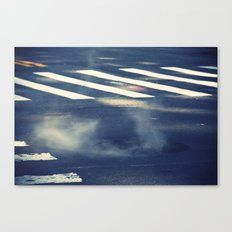 Street Smoke Canvas Print