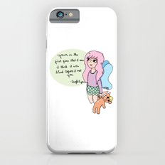 Bright Eyes Pastel Fairy Girl iPhone 6s Slim Case
