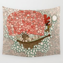 Bubble Waves Wall Tapestry