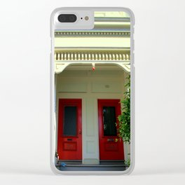 The 2-dor Family Tree Clear iPhone Case