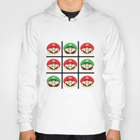 super mario Hoodies featuring Super Mario by Xiao Twins
