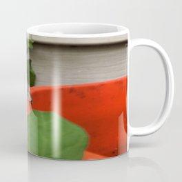 Little Frog Looks Away Coffee Mug