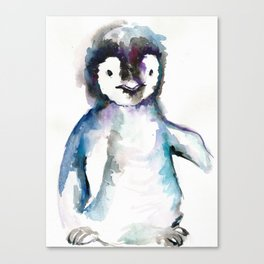 HAPPY PENGUIN Canvas Print