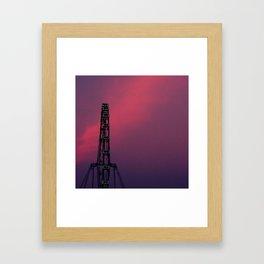 Singapore Flyer Framed Art Print