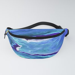 Dreamy Fluid Abstract Painting Fanny Pack