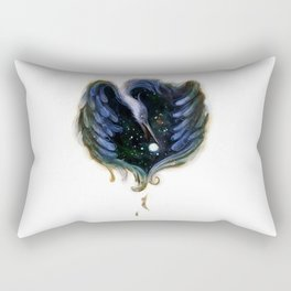 Heron Night Rectangular Pillow