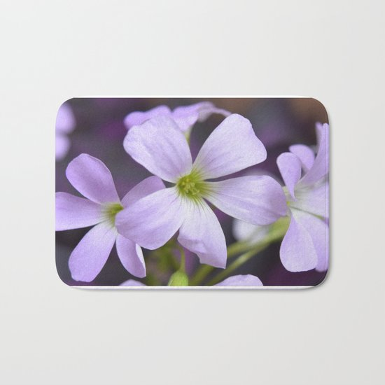 Flower | Flowers | Lavender Petals v2 Bath Mat