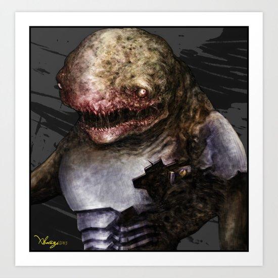 Was turtle Art Print