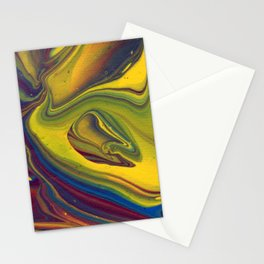 Paint Pouring 23 Stationery Cards