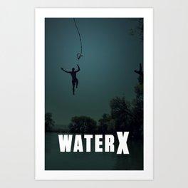 WaterX Art Print