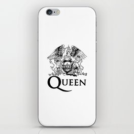 Queen Band Logo iPhone Skin