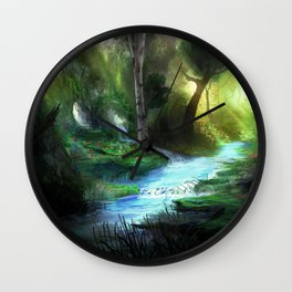 Capacia Forest Wall Clock