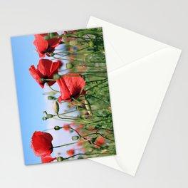 poppy flower no13 Stationery Cards