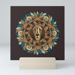 MandaLion Mini Art Print