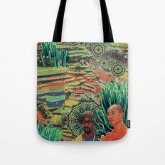 Green Lands Tote Bag