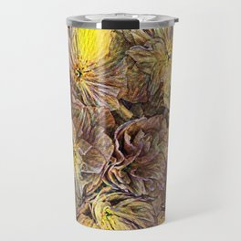 Flowers Galore - Painterly Travel Mug