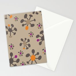 Sputnik, nougat Stationery Cards