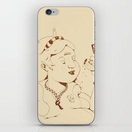 Alice stuck in the wonderland ! iPhone Skin