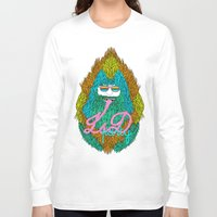 lsd Long Sleeve T-shirts featuring Lsd party by DIVIDUS