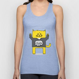 Meow-tallica Unisex Tank Top