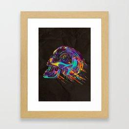 T-800 Skull Framed Art Print