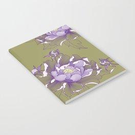 Peony flower Notebook