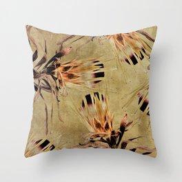 Vintage White Pride Proteas Throw Pillow