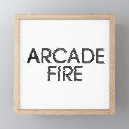 ArcadeFire Framed Mini Art Print