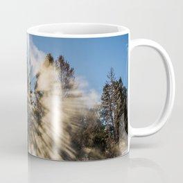 An Explosion of Sunlight Left Me Awestruck! Coffee Mug