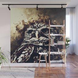 owl portrait 5 wsfn Wall Mural