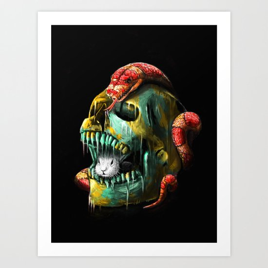 Fear and Desire Art Print
