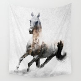 Galloping Horse Wall Tapestry