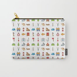 Camping Icon Carry-All Pouch