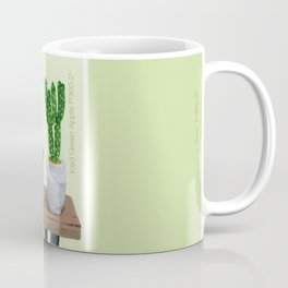 Cacti and Succulents on Greens Coffee Mug