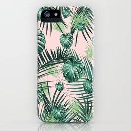 Tropical Jungle Leaves Garden #2 #tropical #decor #art #society6 iPhone Case