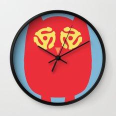 Owl 45s Wall Clock