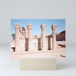Temple of Dendera, no. 3 Mini Art Print