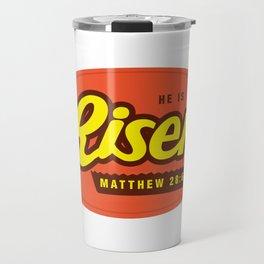 He Is Risen - Matthew 28:6 Travel Mug