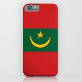 Mauritania National Flag iPhone Case