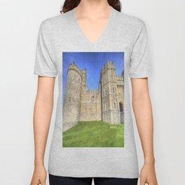 Windsor Castle Unisex V-Neck
